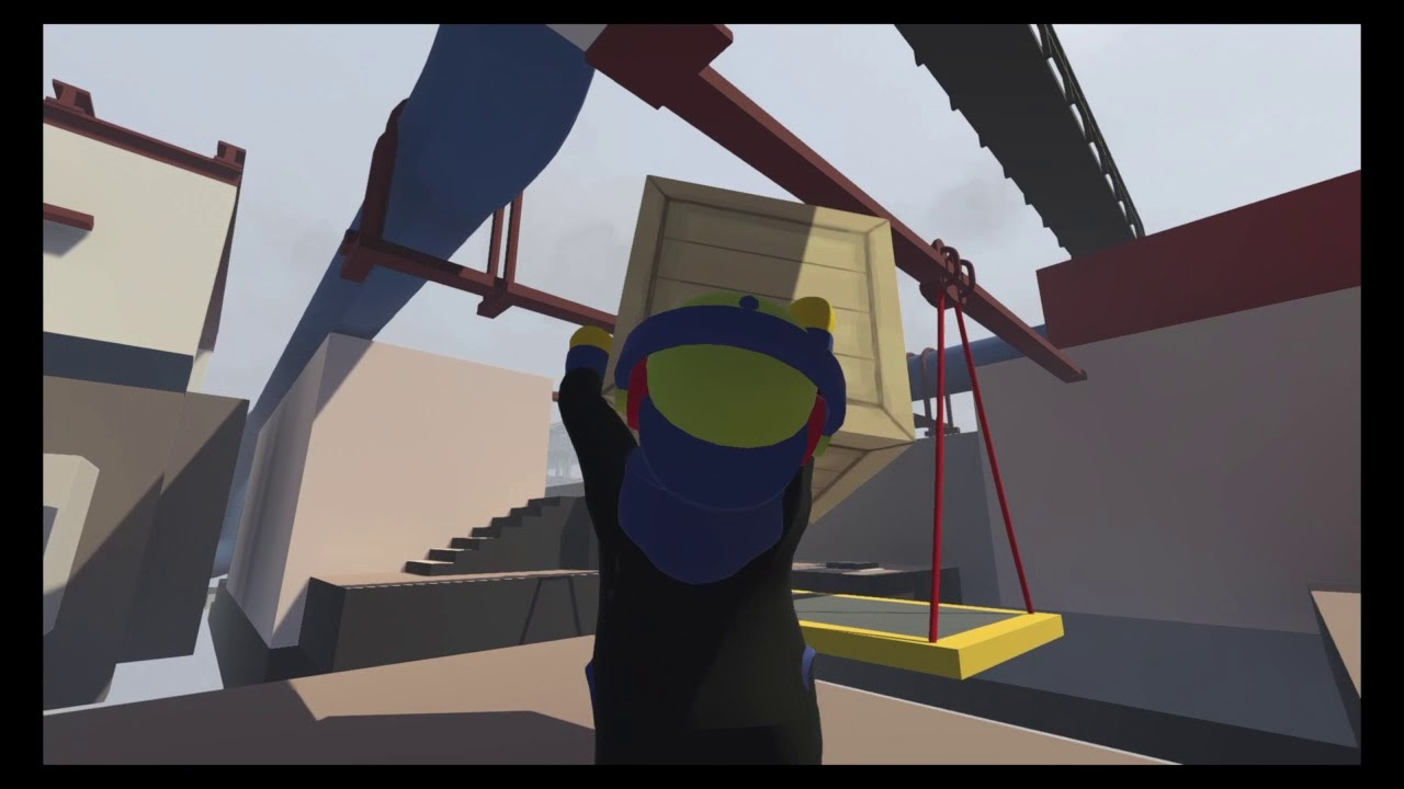 Human Fall Flat #3 The Man Who Has No Voice الرجل الذي ليس