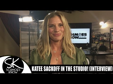 Katee Sackhoff in the Studio!