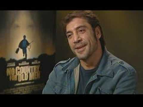 Oscar Winner Javier Bardem Discusses No Country For Old Men