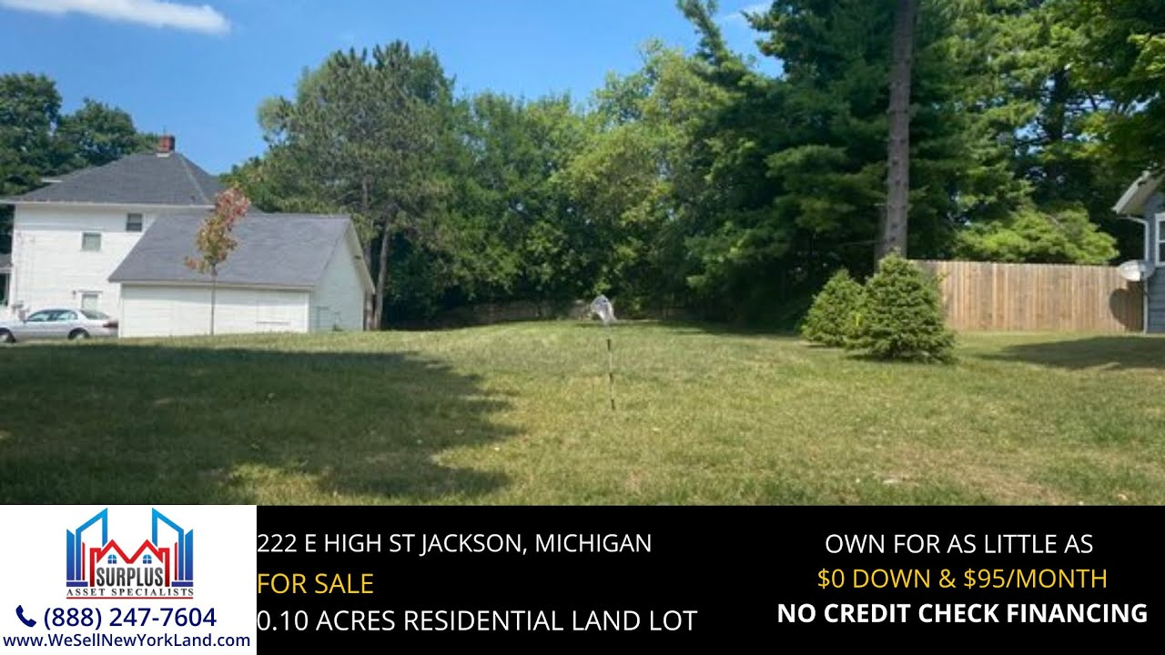 Just Sold By www.WeSellNewYorkLand.com - 222 E High St Jackson, Michigan