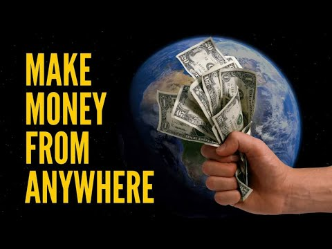Make Money Online Anywhere In The World