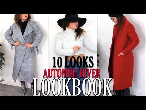 LOOKBOOK : 10 LOOKS TENDANCES AUTOMNE/HIVER 2017 ♡