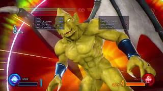 MVCI - Firebrand Tornado Flames Loop - 2 Lvl 3 In Same Combo (Chaos Tide And Red Blaze)