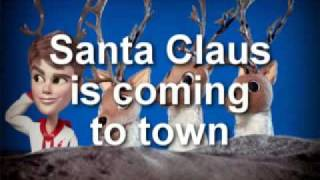 Justin Bieber - (Lyrics) Santa Claus is coming to town