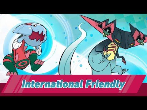 Pokémon劍盾官方大賽! International Friendly! 連戰兩局! - YouTube