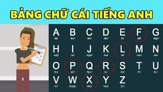 Bảng Chữ Cái Tiếng Anh - Cách Phát Âm Chuẩn Cho Người Mới Học Chỉ Trong 10 Phút