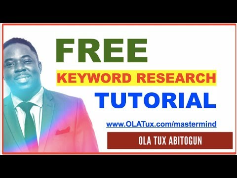 Best FREE Keyword Research Tools  SEO Ranking on your Website