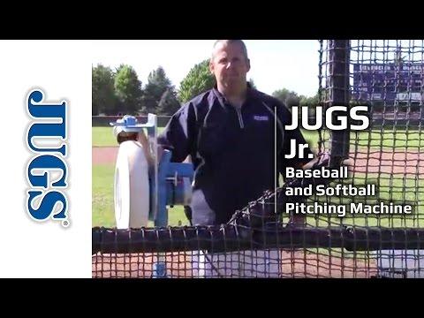 Jr. Pitching Machine for Baseball and Softball | JUGS Sports