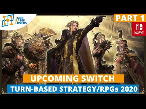 Upcoming Turn-Based Strategy Rpgs SWITCH 2020 - Part 1