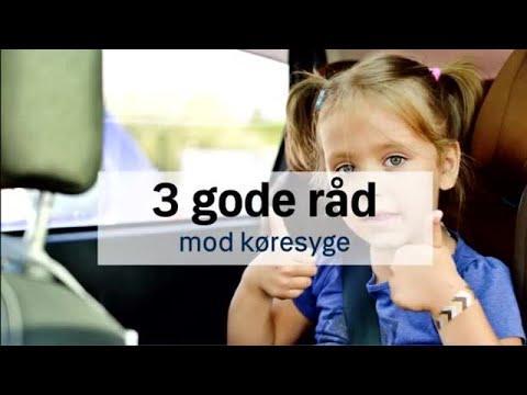 3 gode råd mod køresyge