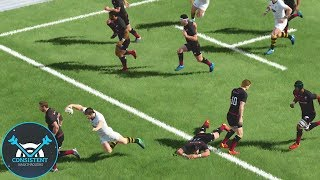 """WELL THIS IS EMBARRASSING! (Rugby 18 Gameplay """"Saracens Vs Wasps"""" Full Match 