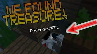 WE FOUND A TREASURE!!!! // MINECRAFT SURVIVAL 2.0