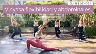 Vinyasa Yoga para ganar flexibilidad y abdominales