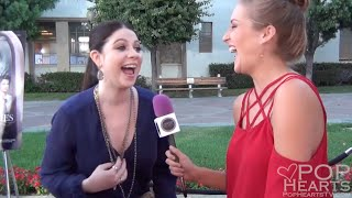 Michelle Trachtenberg Talks Hunted Houses and Sister Cities at Premiere