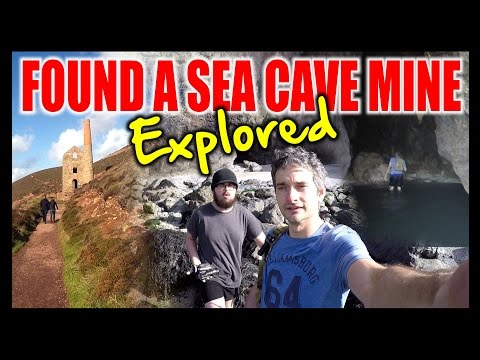 Exploring A Sea Cave Mine & Coves - 1st Person Adventures