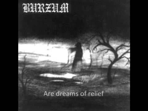 Burzum- A Lost Forgotten Sad Spirit w/ lyrics