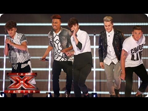 Kingsland Road sing I'm Your Man by Wham - Live Week 1 - The X Factor 2013