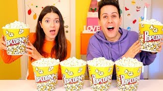DON'T CHOOSE THE WRONG POP CORN SLIME CHALLENGE!