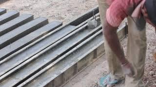Виготовлення Цементних Бетонних Опор - Ручний Метод-2