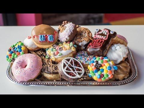 Voodoo Doughnut Walk-Through at Universal CityWalk Hollywood Los Angeles