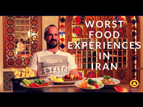 Worst Iranian food - www.apochi.com - Travel to Iran