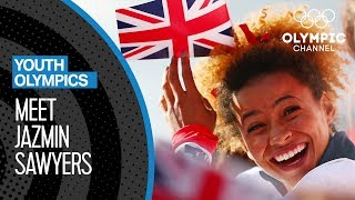 Jazmin Sawyers - The Multitalented Athlete & Musician chasing Olympic Gold | Youth Olympic Games