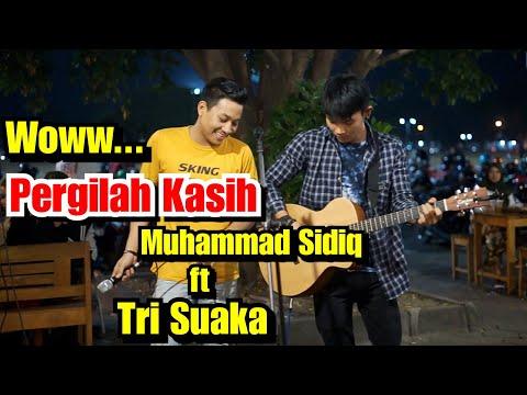 Keren banget Duet bareng Raja Prank Baper - Muhammad Sidiq ft Tri Suaka Serak Banjir