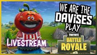 Sunday roblox and fortnite with me and friends! | We Are The Davises Live Stream