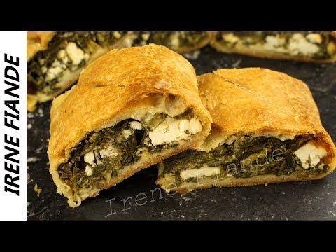 Греческий Пирог  со шпинатом и сыром фета. Рецепт старой гречанки с острова Кифира