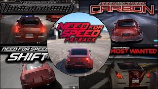 Nissan 350Z Evolution in Need For Speed Payback - 1080pHD