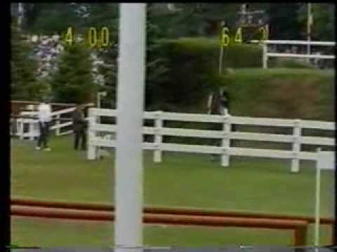 Eddie Macken & Flight in the 1986 Hamburg Derby