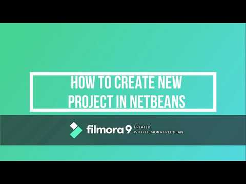 How To Create Project In Netbeans Step By Step