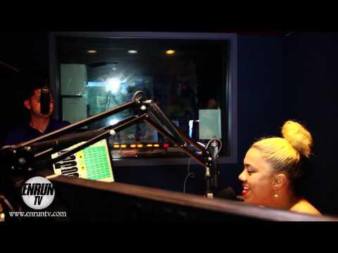 Charlie Luckie Radio Interveiw @ 93 Blx with Nina Rawz'  The Underground