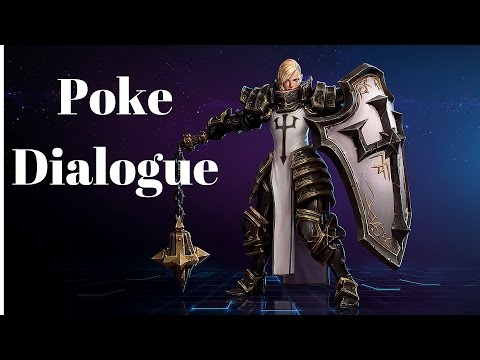 Johanna Poke Dialogue | All Quotes | Heroes Of The Storm