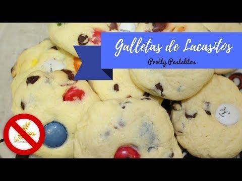 Galletas con Lacasitos® (sin gluten y bajo contenido en lactosa)