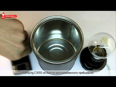 Краш-тест Samsung C3050