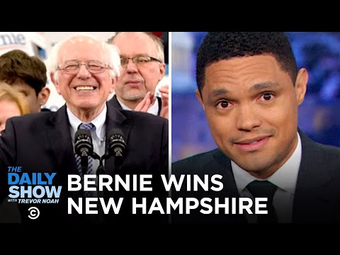 Bernie Wins New Hampshire, Biden Fades and Klobuchar Surges | The Daily Show