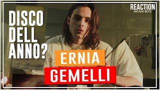 Ernia - Gemelli ( DISCO COMPLETO ) | RAP REACTION by Arcade Boyz