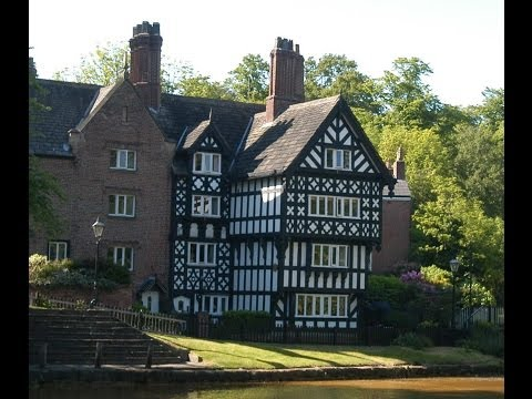 Picturesque Worsley Salford UK birthplace of the nations inland waterway system
