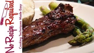 Asian Marinated Skirt Steak - Noreciperequired.com