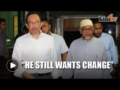 Anwar sees Hadi's speech positively