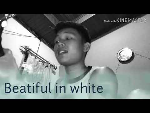 COVER Lagu Beautiful In White,BY. ERDIAN