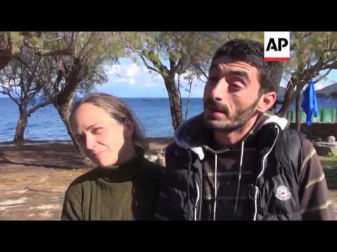 Hungarian woman meets Syrian boyfriend