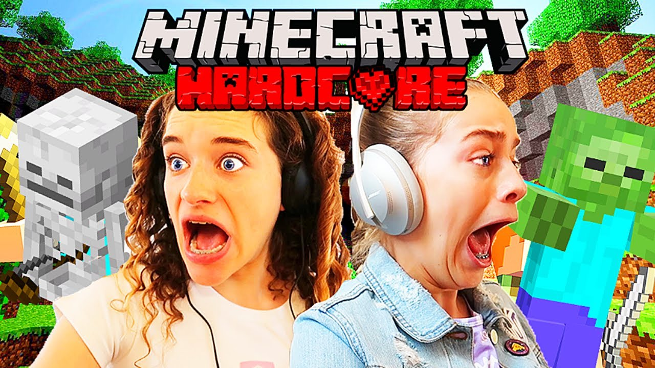 MINECRAFT HARDCORE (at night) w/ The Norris Nuts