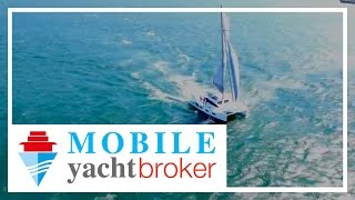 Find Xquisite Yachts on MOBILE YachtBroker - Introducing the all new X5 Luxury Sailing Catamaran