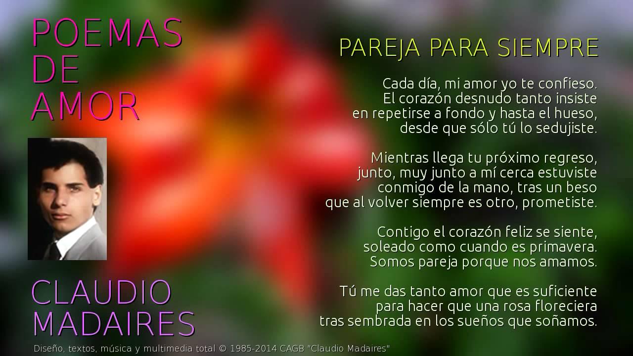 Poemas Para Cunhadas Amor E Poesias: Pareja Para Siempre