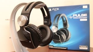 PS3 Pulse Wireless Stereo Headset Unboxing