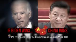 If Biden wins, China wins and America loses.