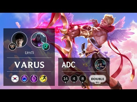 Varus ADC vs Caitlyn - KR Challenger Patch 9.18