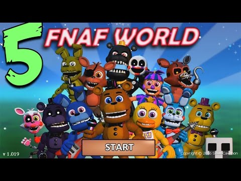 Five Nights At Freddys 4 - FNAF WORLD - НОВАЯ RPG ИГРА